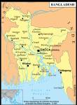 Bangladesh petite carte