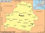 Biélorussie petite carte