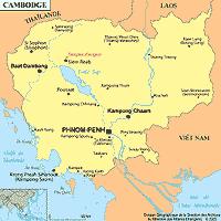 Cambodge petite carte