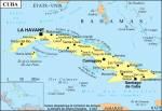 Cuba petite carte