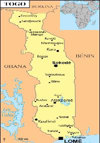 Togo petite carte